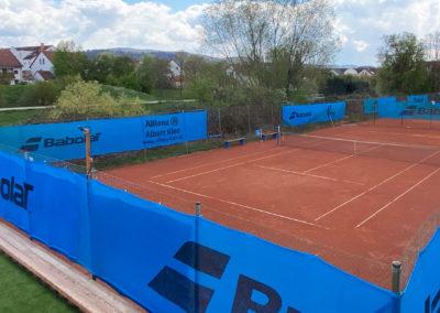 Außenanlage Tennisclub Sportpark Heppenheim